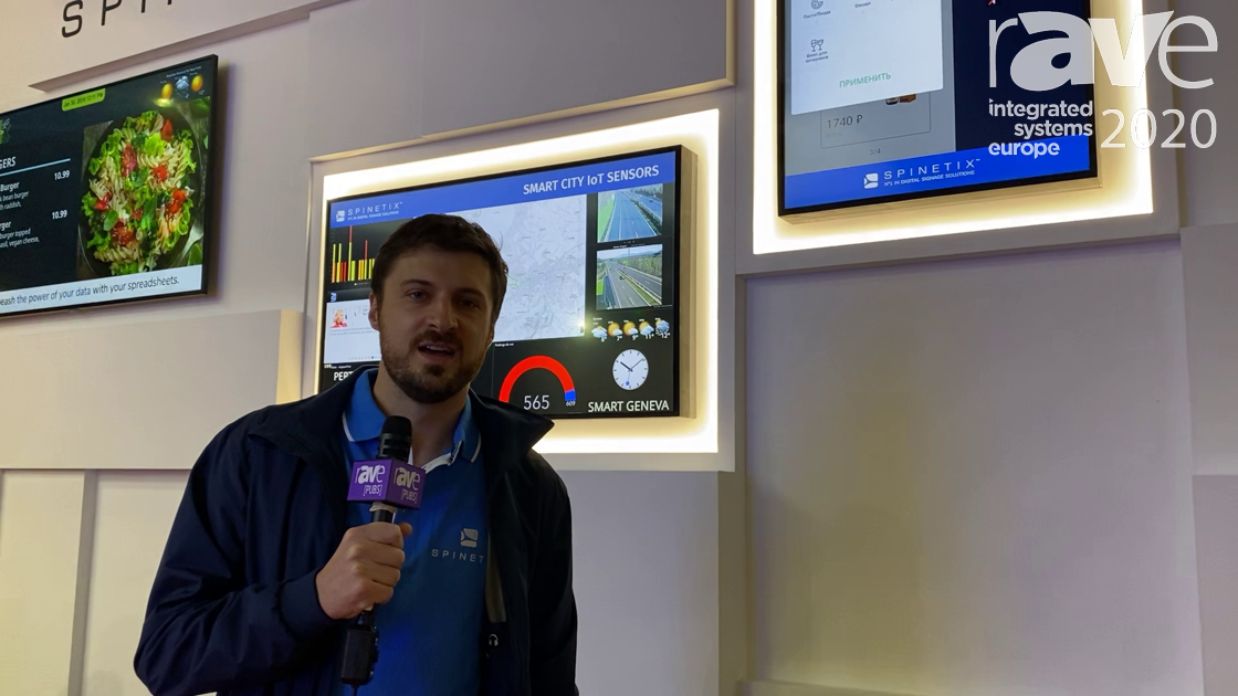 ISE 2020: SpinetiX Shows HMP 400 Fanless Digital Signage Player, Now With 4K@60Hz HTML5 Rendering