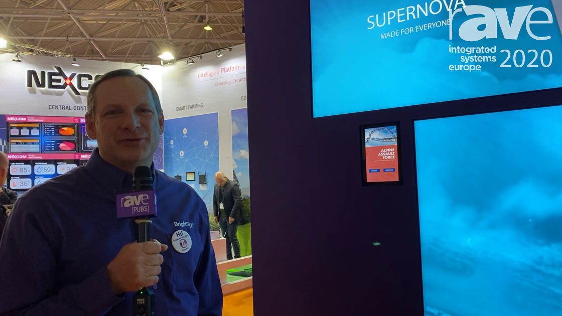 ISE 2020: BrightSign Shows BrightWall Tool for Creating Looping Video Wall Content Windows