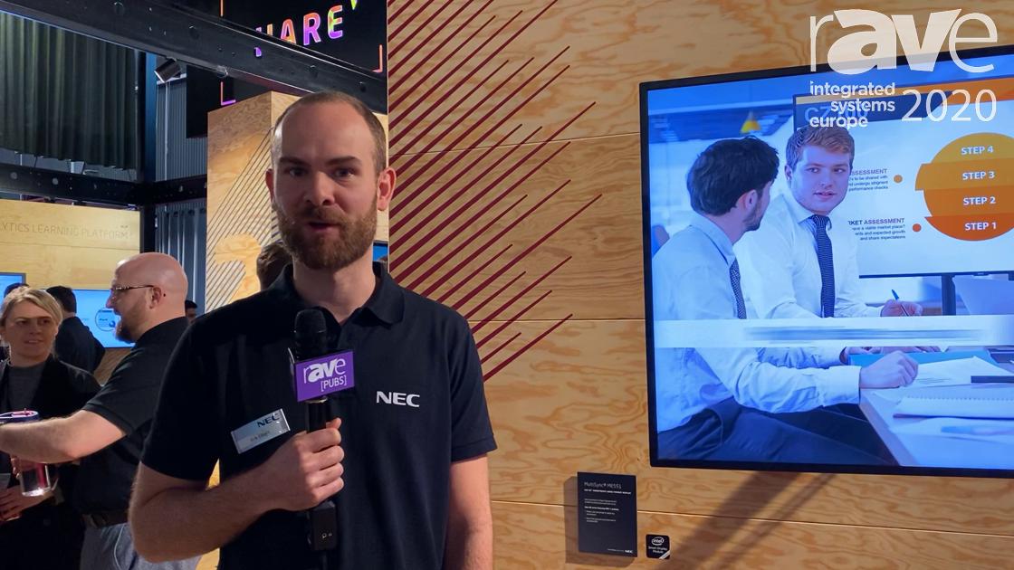 ISE 2020: NEC Display Intros the M Series, MA Series, ME Series Next Gen Large Format Displays