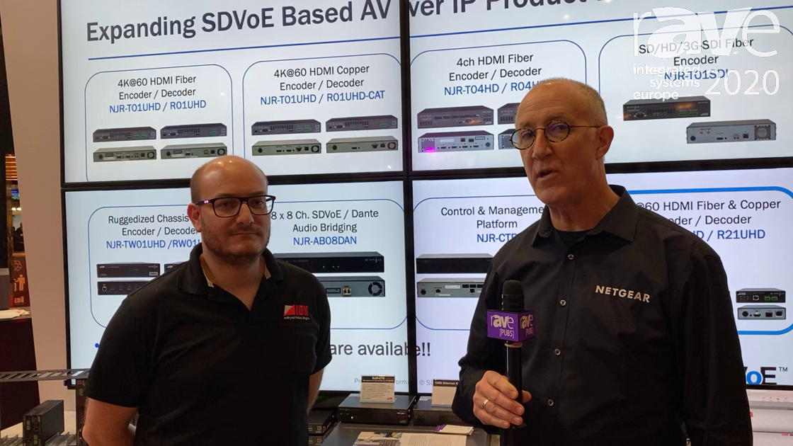 ISE 2020: NETGEAR Partners With IDK Corporation, Uses M4300 as Central Hub for IP Ninjar Product