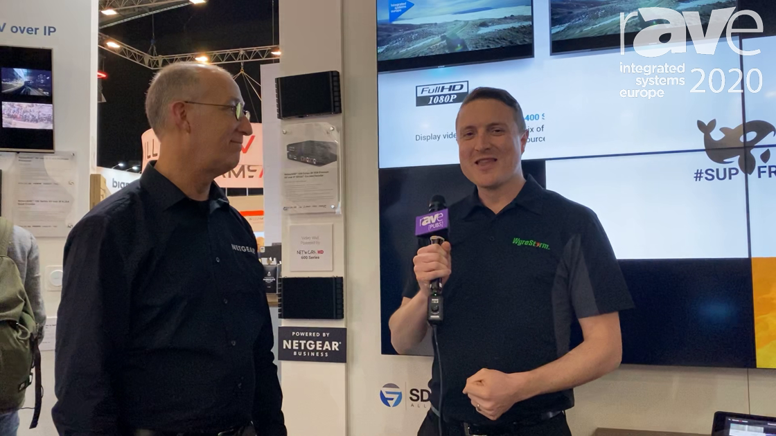 ISE 2020: Wyrestorm Adds Dante, SFP Modules for NETGEAR 10G Fiber Switches to NetworkHD 600 Series