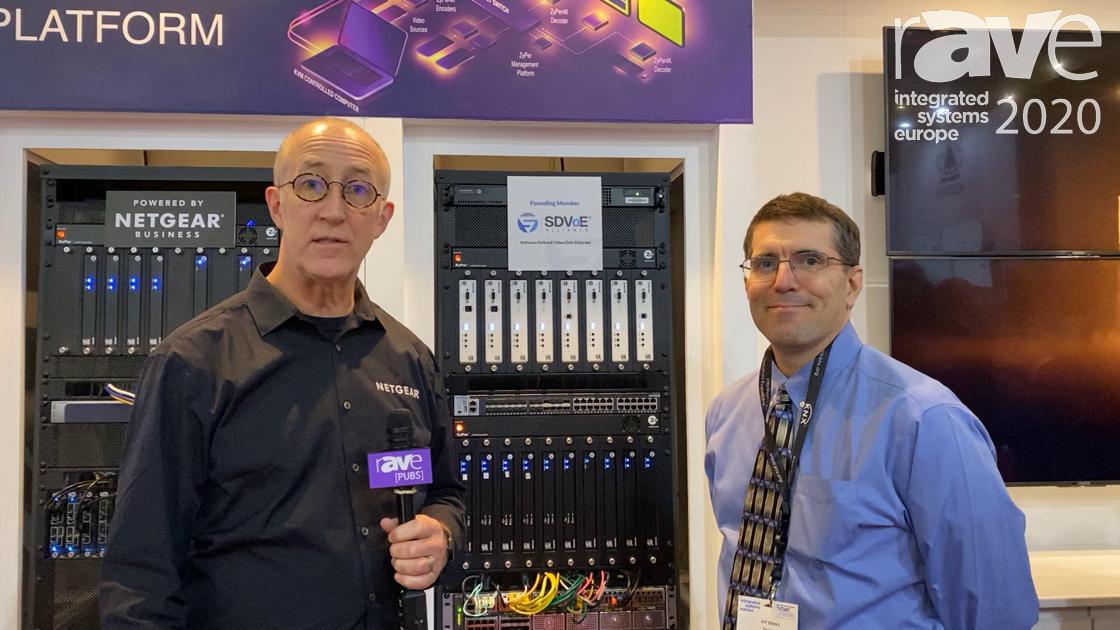 ISE 2020: NETGEAR Partners With ZeeVee, Offers ZeeVee Plug-in Module for M4300-96X Switch