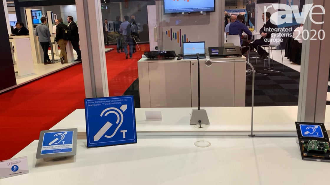 ISE 2020: Contacta Shows Speech Transfer System, Equipped with Hearing Loop for Spaces with Barriers