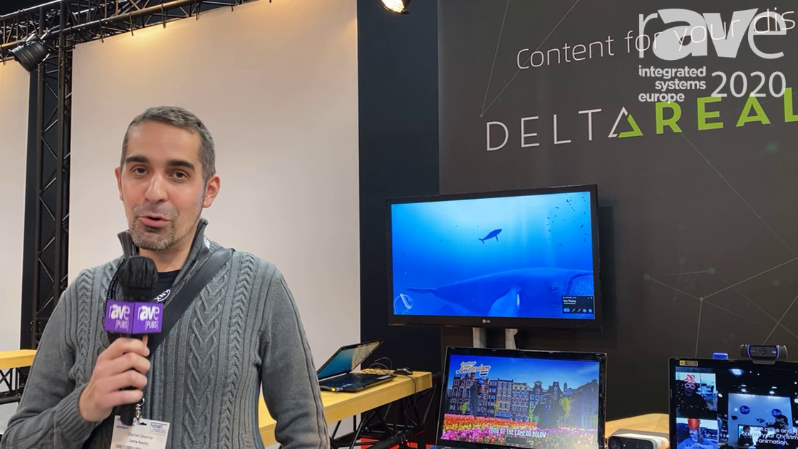 ISE 2020: Delta Reality Showcases AR and VR Solutions For Interactive Digital Signage Applications