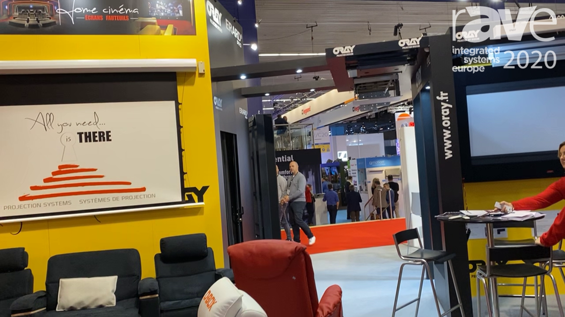 ISE 2020: Oray Intros D-BOX Home Cinema Seats and Theatre Screens for Professional Applications
