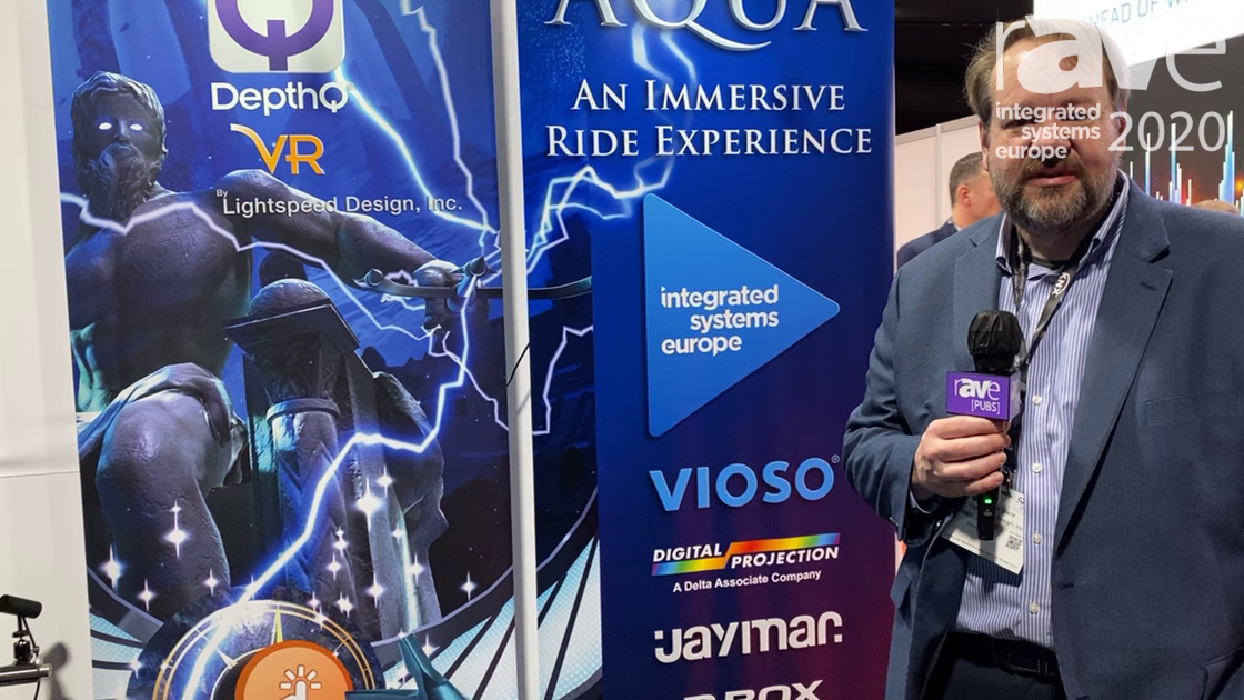 ISE 2020: DepthQVR by Lightspeed Design Discusses Immersive VR Ride Attraction