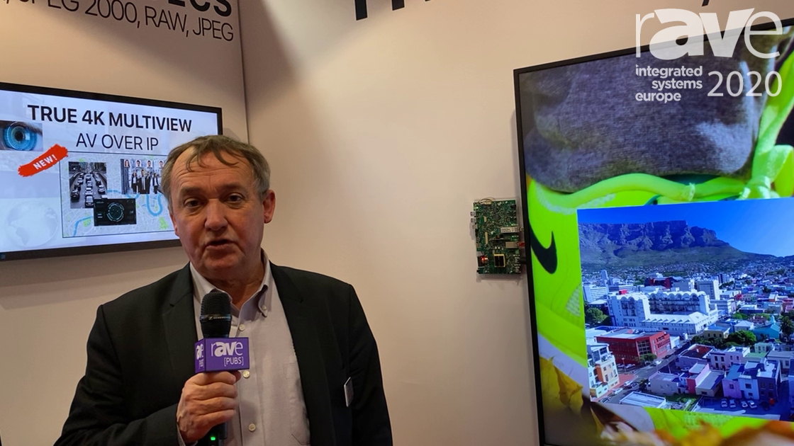 ISE 2020: Silex Insight Explains VIPER AV-over-IP Custom OEM Board