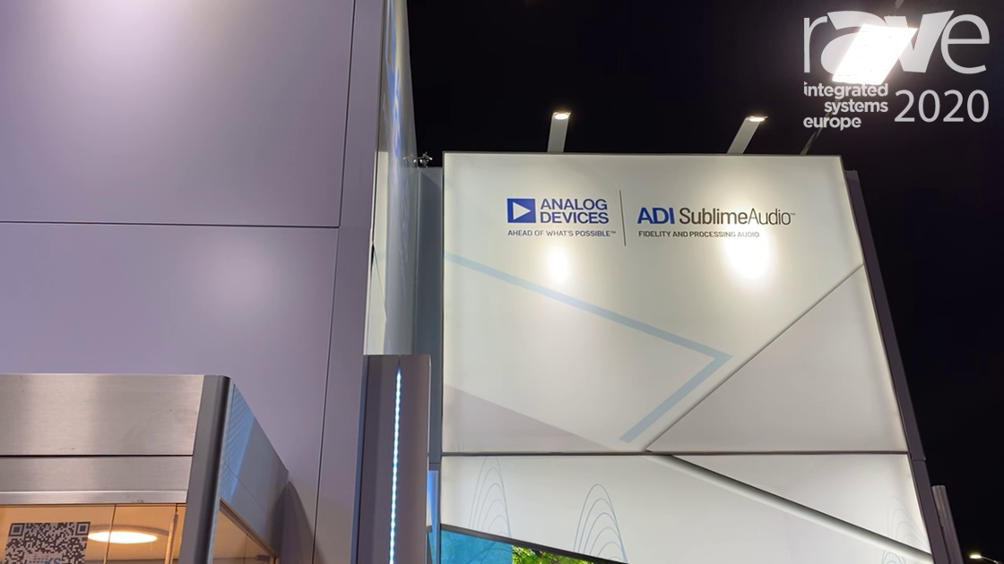 ISE 2020: Analog Devices Talks Natural Own-Voice Solution for Remedying Occlusion Effect