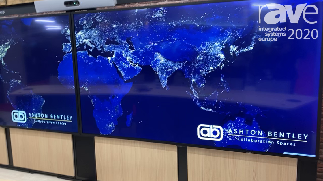 ISE 2020: Ashton Bentley Debuts 98-Inch Room System for Collaboration Spaces