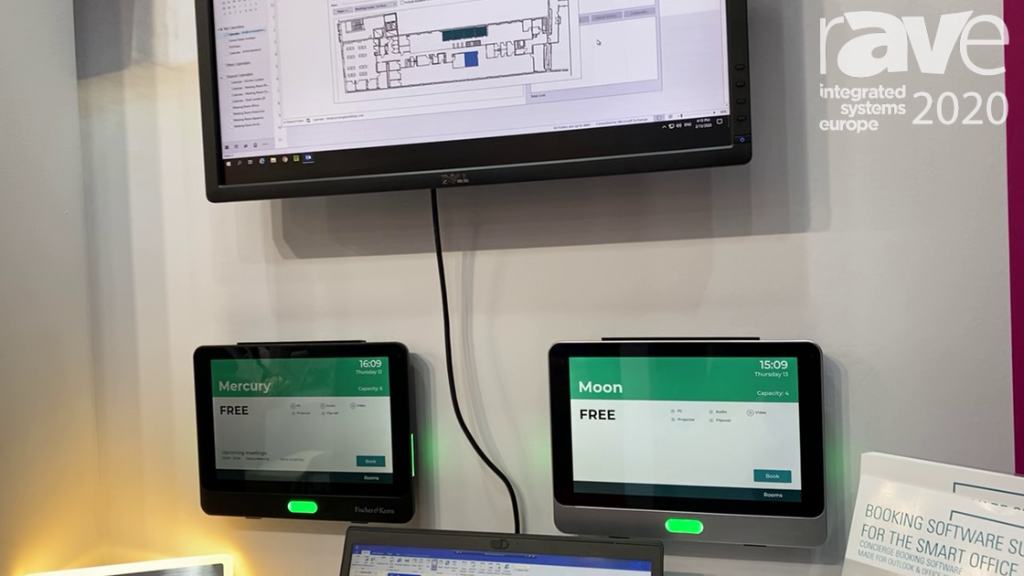 ISE 2020: Fischer & Kerrn Exhibits Concierge Booking Software Suite for Smart Office