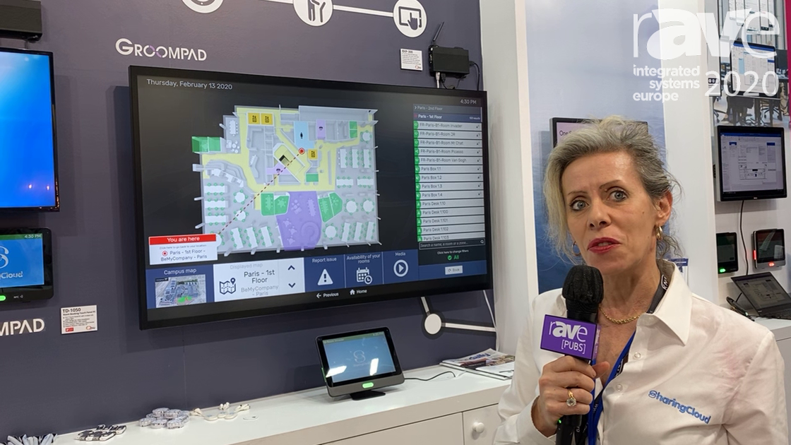ISE 2020: SharingCloud Demonstrates GroomPad Interactive Touchscreen Display