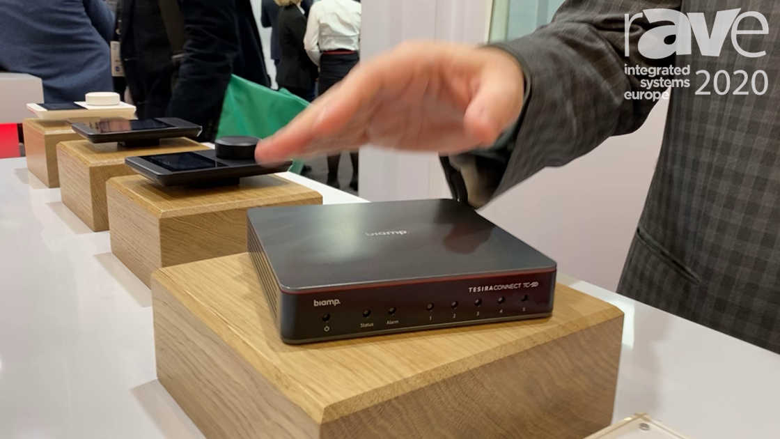 ISE 2020: Biamp Debuts TesiraCONNECT TC-5D In-Room Connectivity Appliance with Dante Integration