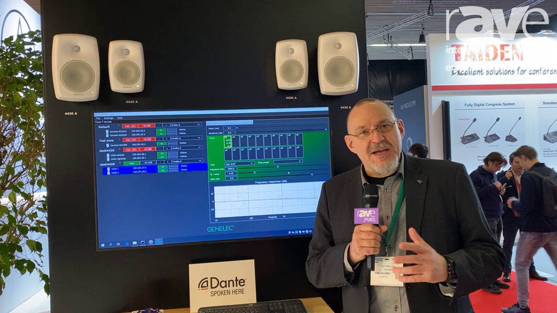 ISE 2020: Genelec Demos Smart IP 4420 and 4430 Loudspeaker Systems with Software Tool for Integrator