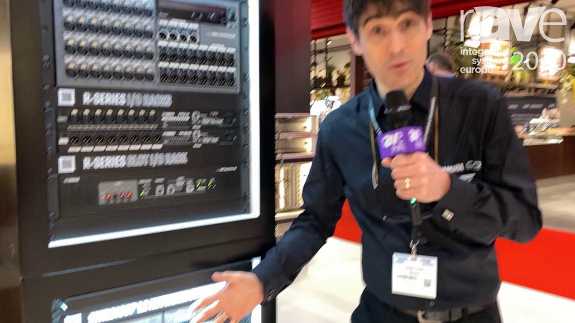 ISE 2020: Yamaha Unified Communications Explains SWR2310 Range of Stackable Managed Network Switches