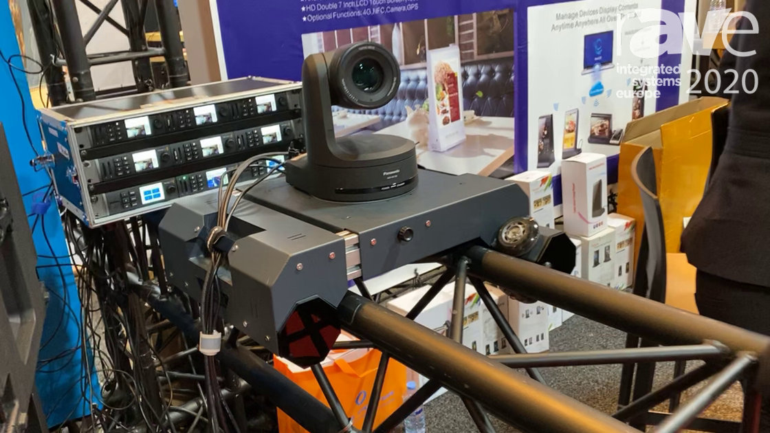 ISE 2020: T-Rider Showcases Dolly for PTZ Cameras