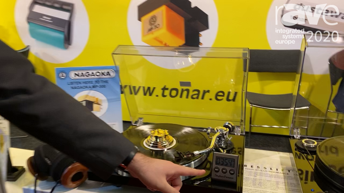 ISE 2020: Tonar & Allitone Offers Stylus Timer, Automator for Turn Table