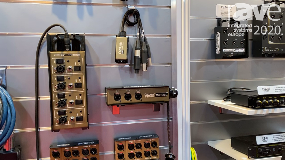 ISE 2020: Whirlwind Shows Off CT-MF in Catdusa Multicat Line of Cable Snakes for Audio