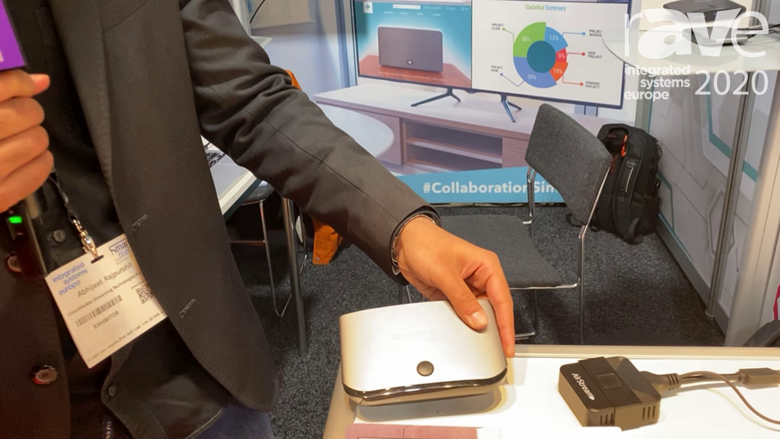 ISE 2020: CloudWalker Showcases AirStream for Wireless Presentation in Collaboration Rooms
