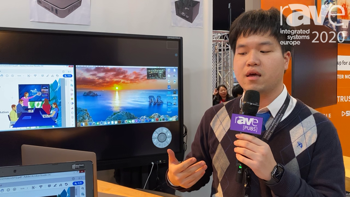 ISE 2020: AeroShare/GeneTouch Demo AeroShare Device for HDMI-to-Display Wireless Presentation