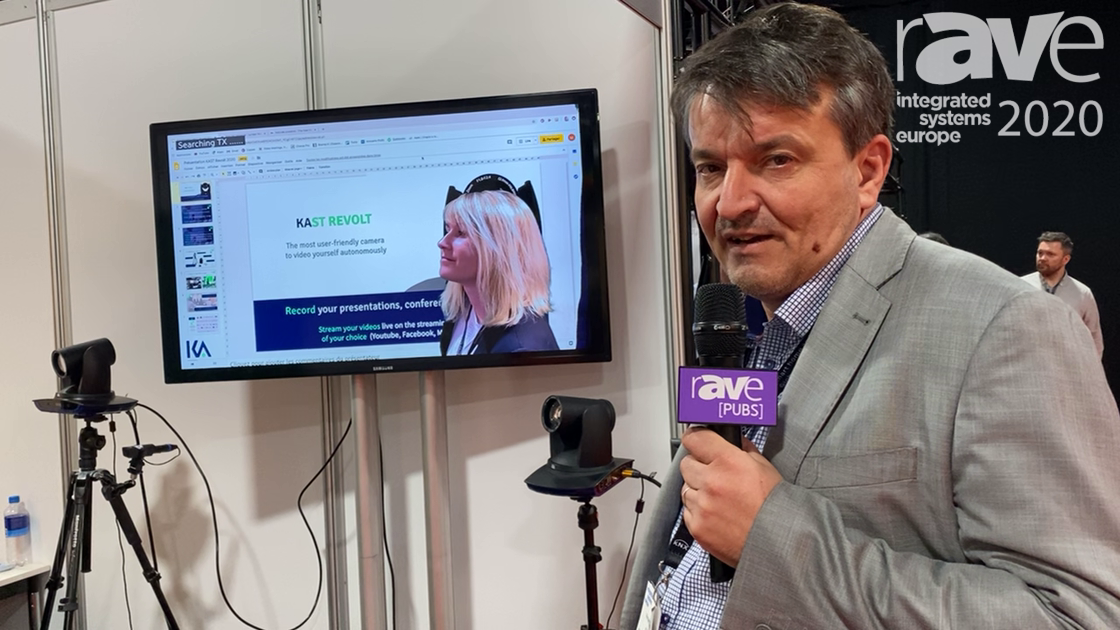 ISE 2020: Kalyzée Showcases KAST REVOLT, AV Recording and Live Streaming Camera