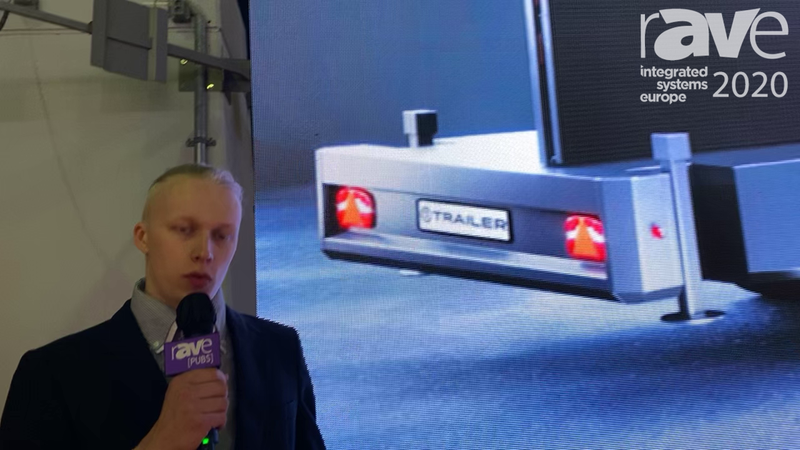 ISE 2020: 1Trailer Explains Mobile LED Screen Trailer