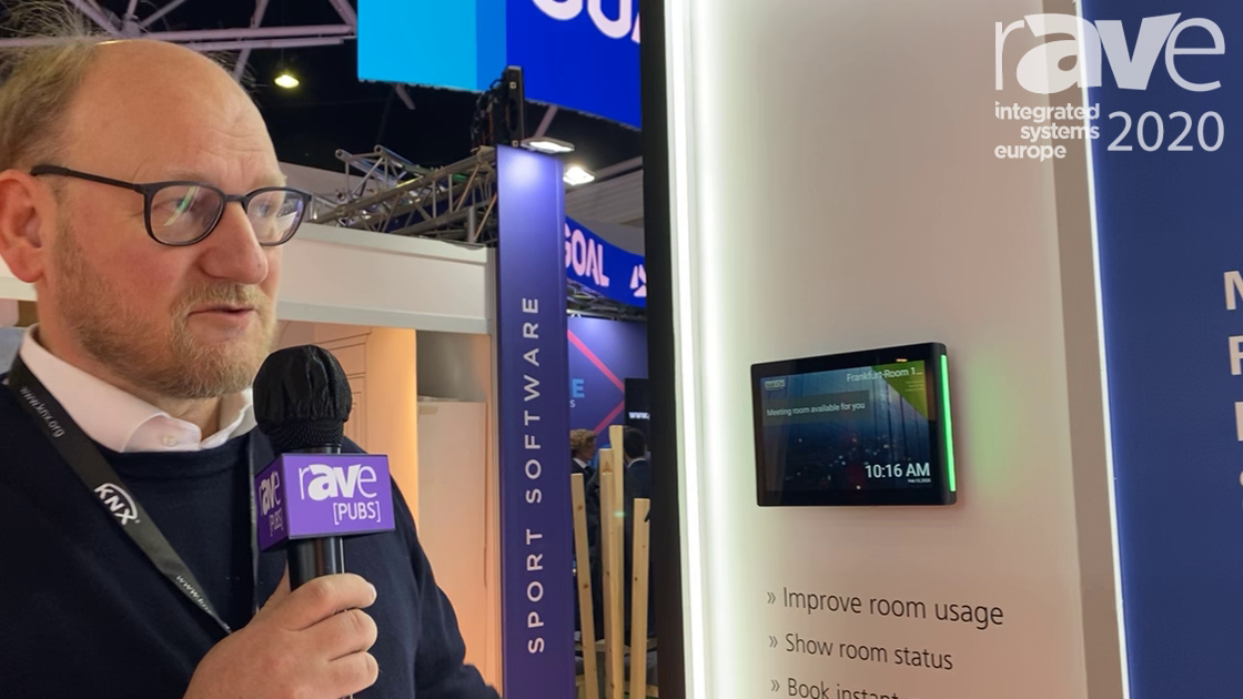 ISE 2020: Add-On Products Exhibits Its Digital Signage Touch Display Solution for Meeting Rooms