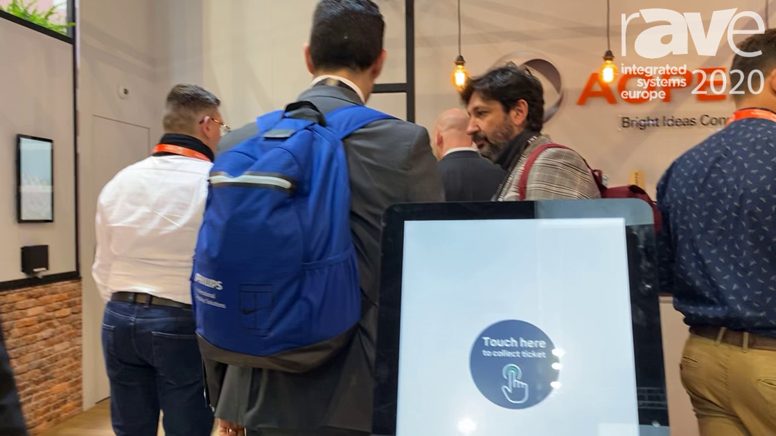ISE 2020: AOPEN Discusses Windows-Based eTILE Series of All-in-One Touch Displays