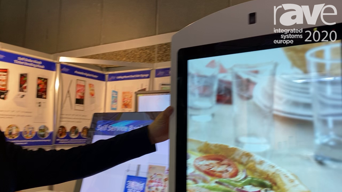 ISE 2020: Astouch Technology Explains Self-Ordering Touch Kiosk with Facial Recognition Camera