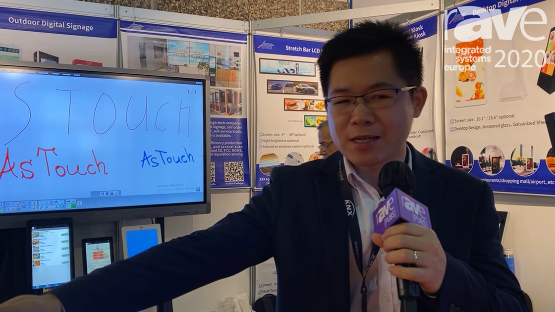 ISE 2020: Astouch Technology Highlights Self-Ordering Kiosk with Receipt Printer and QR Code Scanner