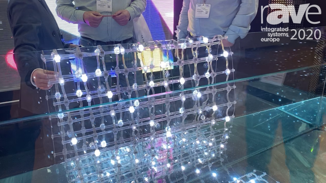 ISE 2020: Shenzhen Auroled Tech Shows Off ATO Series Outdoor LED Mesh Screen