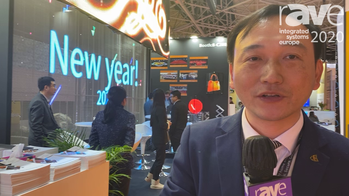 ISE 2020: Shenzhen Auroled Tech Exhibits Its Transparent Hanging Outdoor LED Screens