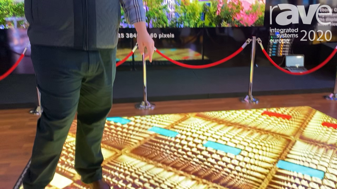ISE 2020: CreateLED Highlights AirFLOOR-V1 2.6mm Pixel Pitch LED Digital Floor Display