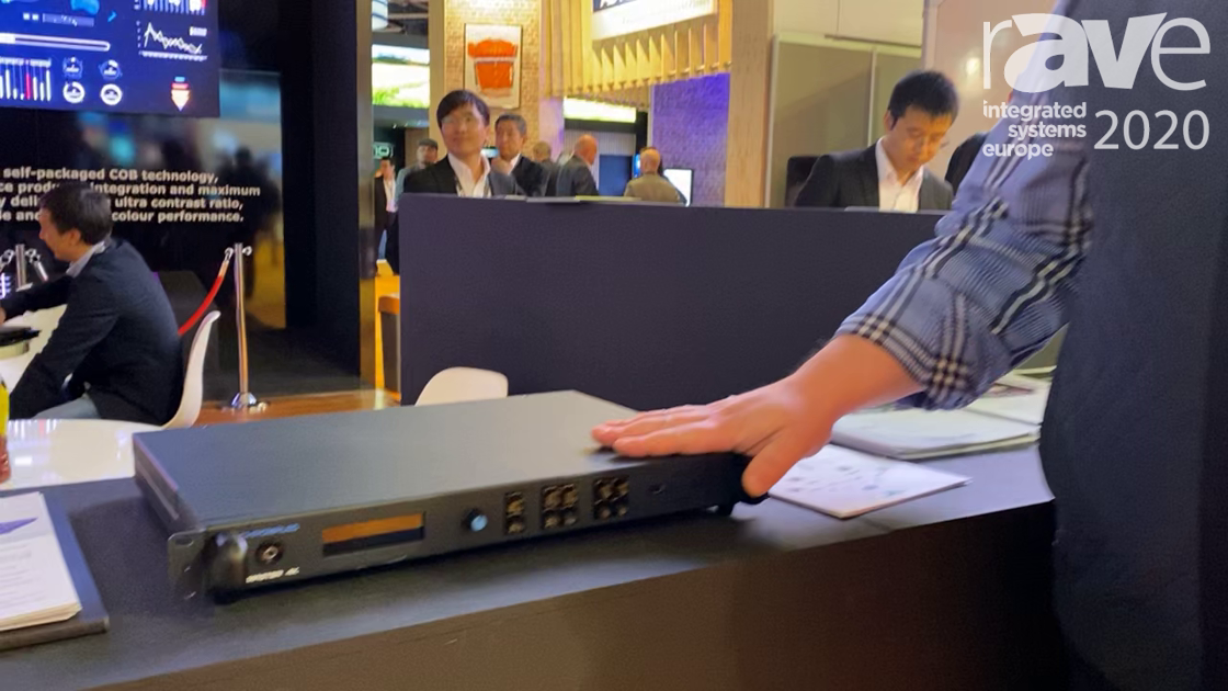 ISE 2020: CreateLED Illustrates CHROMALED Master 4K Video Processor