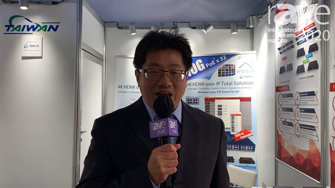ISE 2020: Intrising Overviews W1000 and W1100 Wi-Fi Routers with PoE Switch
