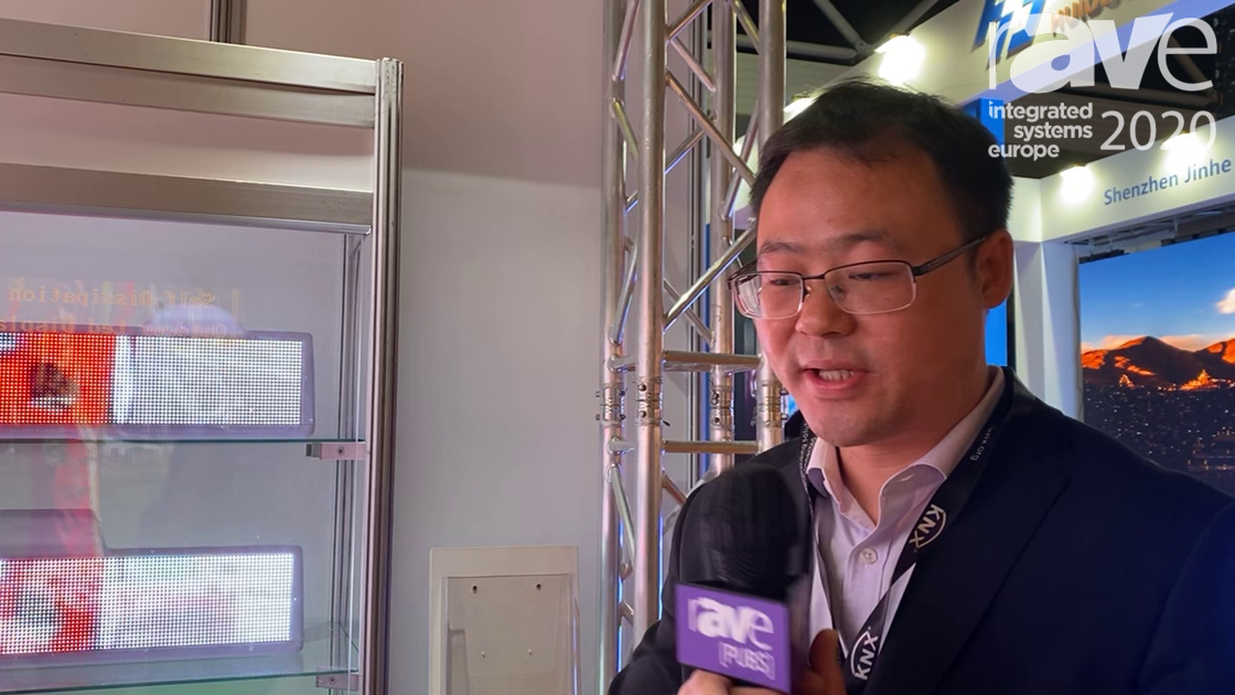 ISE 2020: Shenzhen Getron Presents New Taxi LED Signage