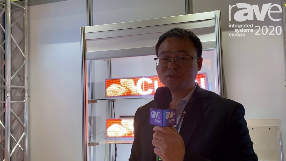 ISE 2020: Shenzhen Getron Showcases Waterproof IP68 Aluminum Outdoor LED Display