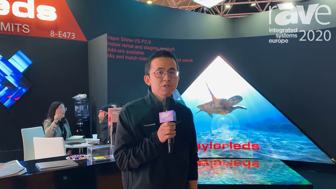 ISE 2020: Taylorleds Shows Unique LED Display Solutions Ideal for Rental and Staging Applications