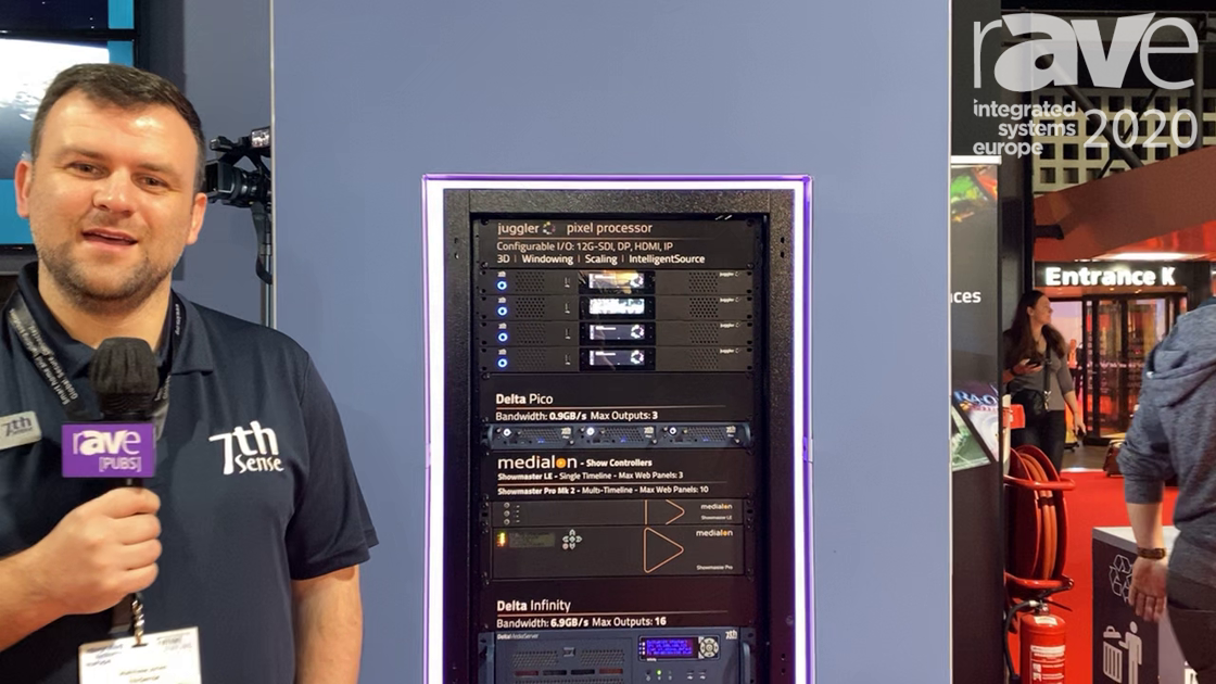 ISE 2020: 7thSense Introduces Delta 2.7 Software Platform With Mesh Projection-Mapping Mode