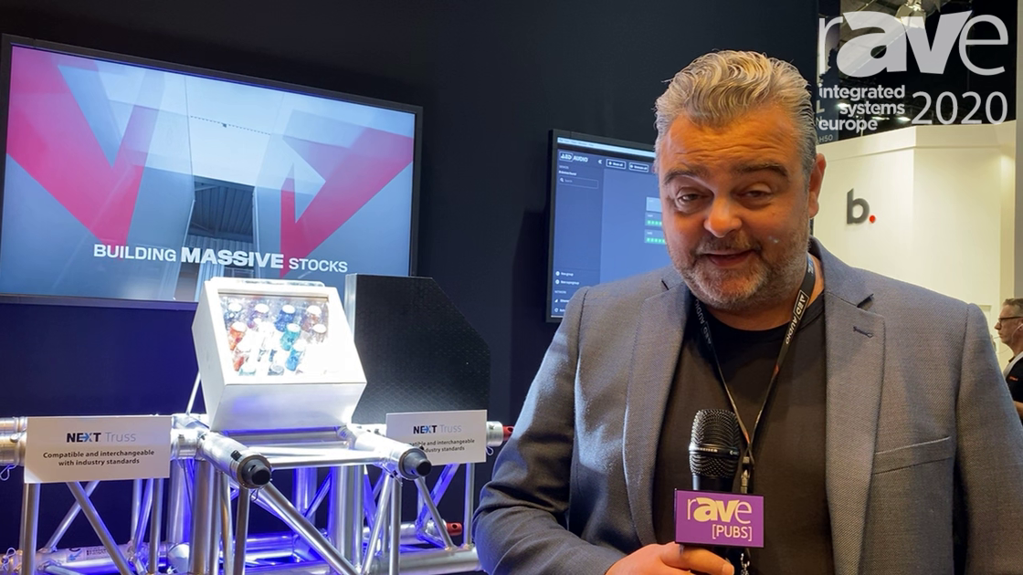 ISE 2020: Next Truss Shows New Truss Systems on the AED Group Stand