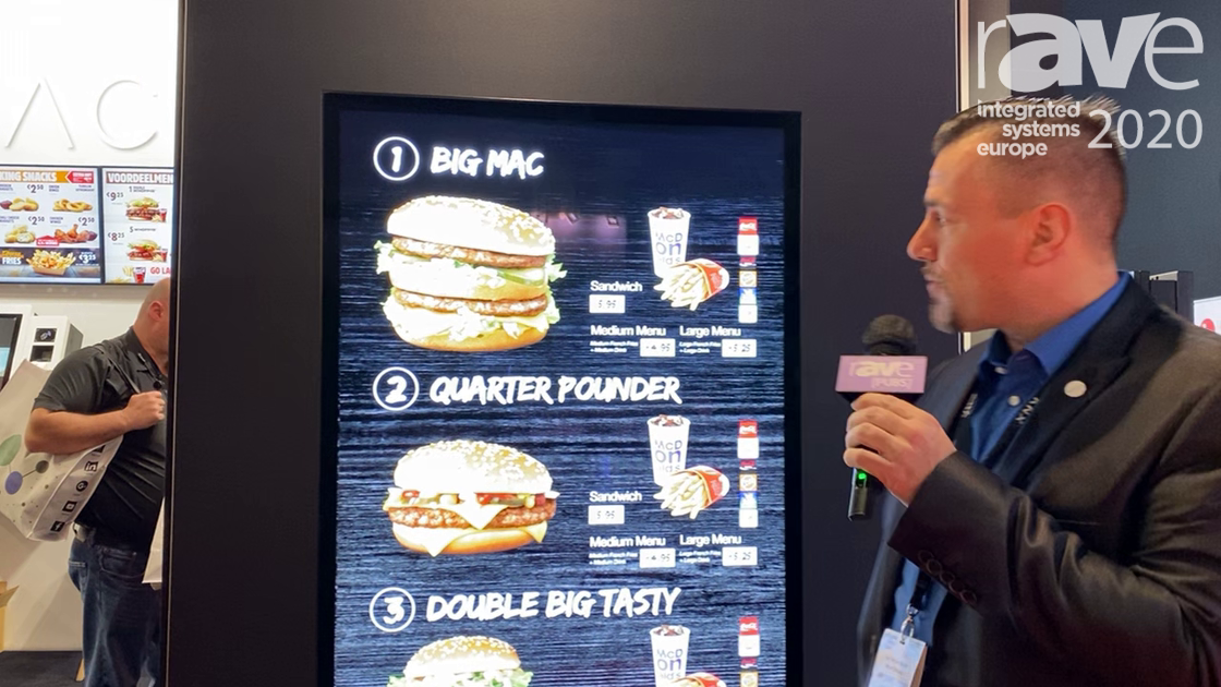 ISE 2020: Acrelec Shows Outdoor Digital Menu Board Solution for Drive-thrus