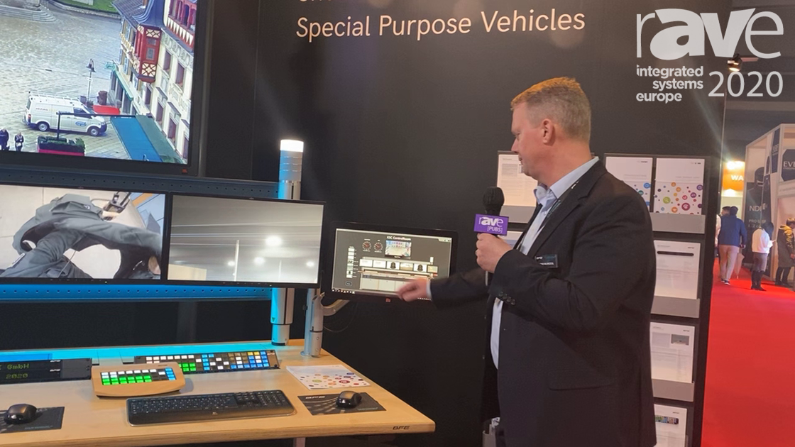 ISE 2020: BFE Showcases KSC Control Room With GFX Graphical Control Unit