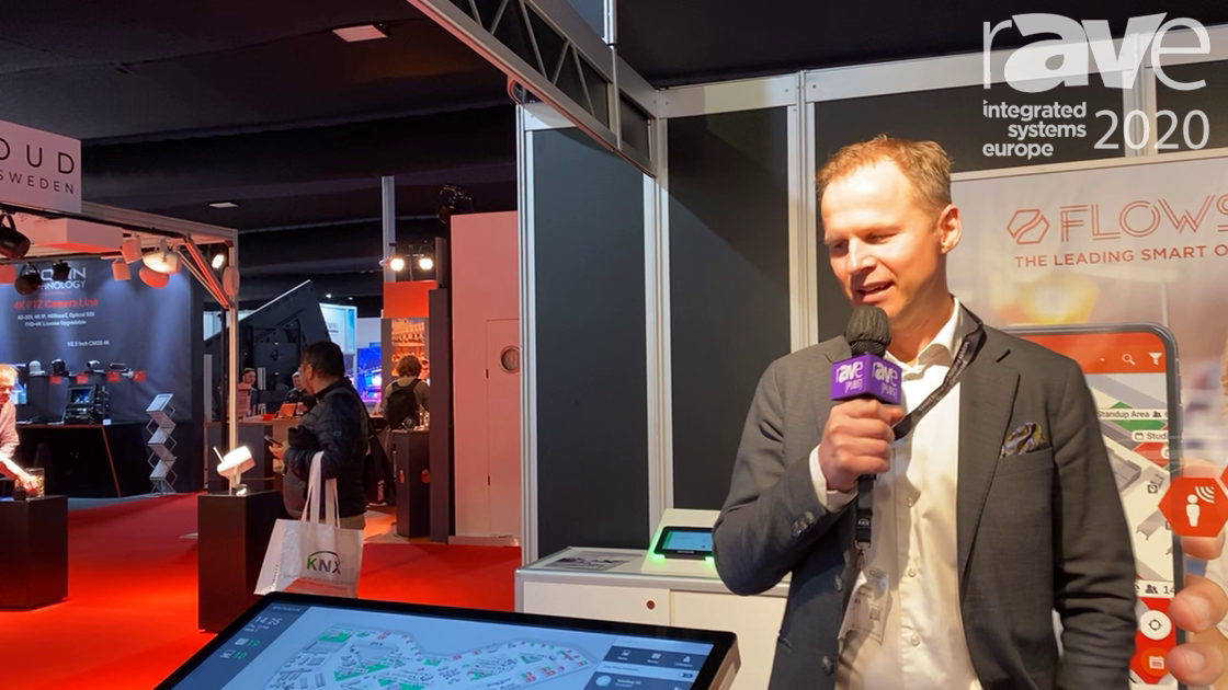 ISE 2020: Flowscape Reveals Smart Office Signage Solution With Crisis Communication Options