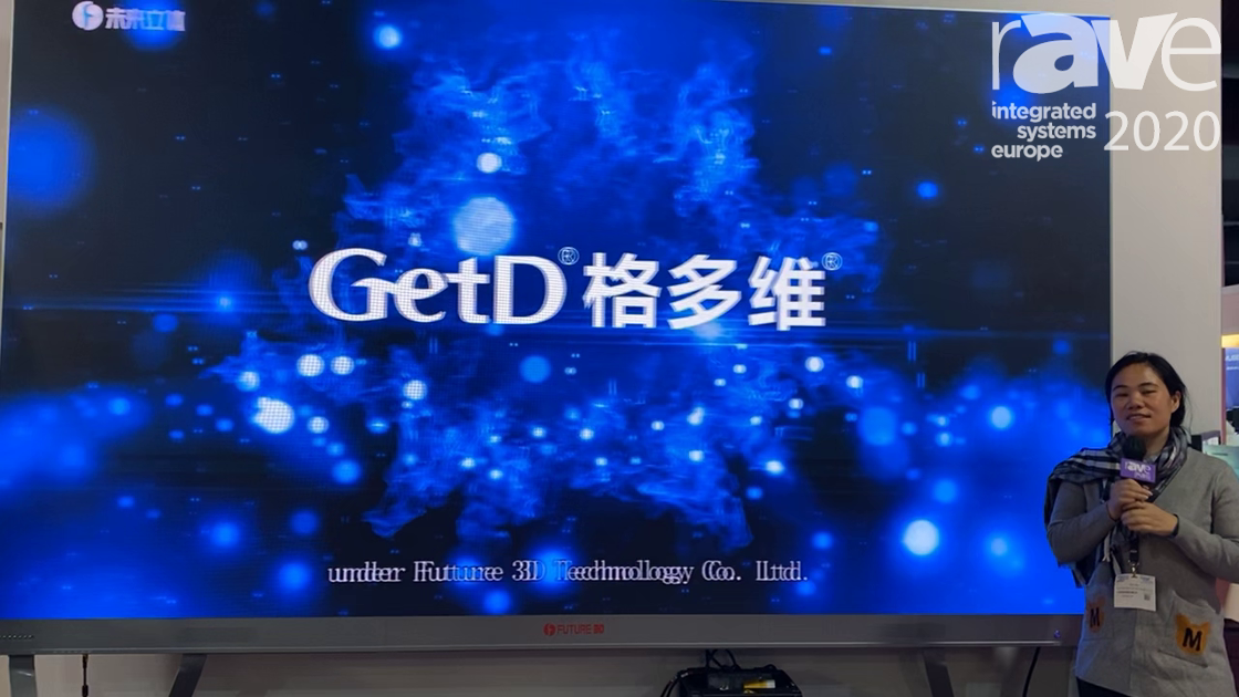 ISE 2020: Future 3D Features Fine Pitch 3D LED Alo Display