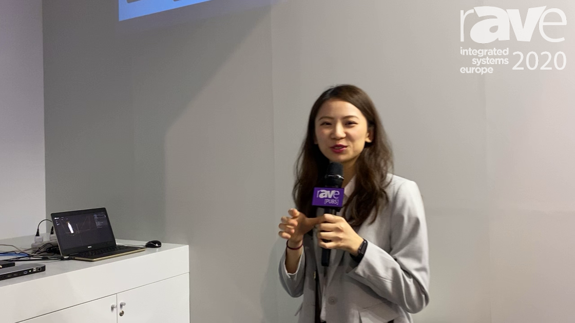 ISE 2020: AVLink Demonstrates LightCastle Projection Mapping Solution