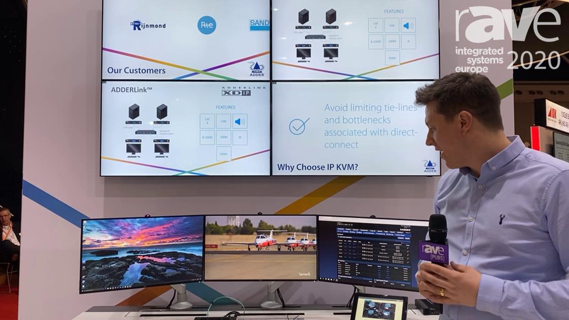 ISE 2020: Adder Technology Talks ADDERLink INFINITY 4000 KVM Platform for Command and Control