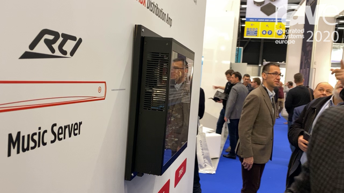 ISE 2020: Anthem Electronics Overviews MDX-16 Distribution Amplifiers With Receiver Capabilities