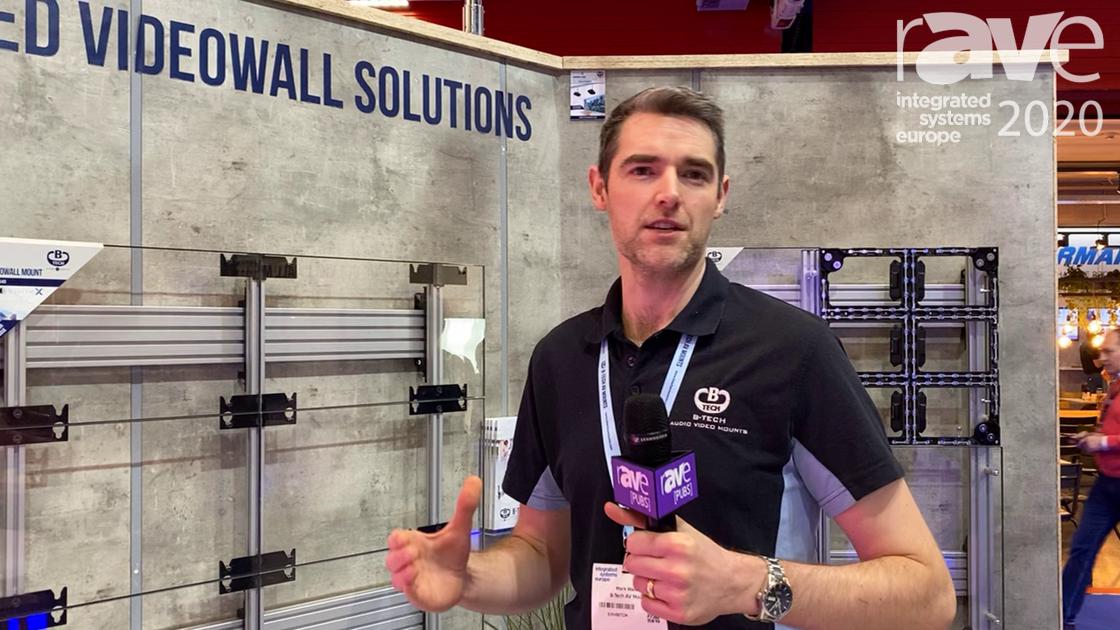 ISE 2020: B-Tech AV Mounts Markets Mount Solutions for Video Walls
