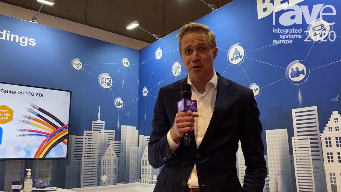 ISE 2020: Belden Talks About 4K UHD Media Cable, Fiber MPO Solution and Cabinet Installation