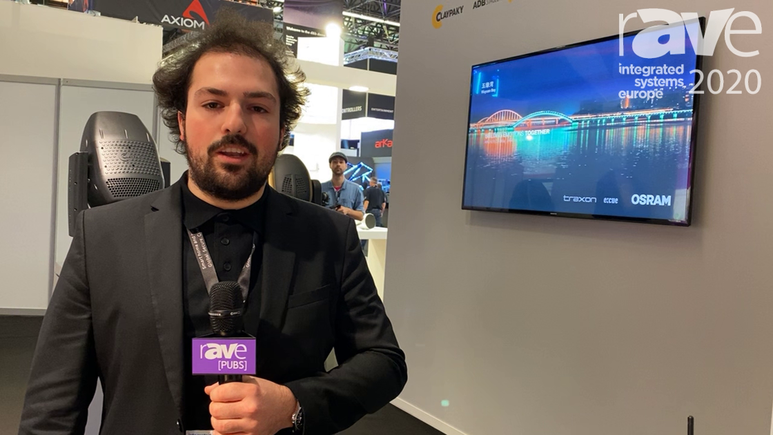 ISE 2020: Clay Paky Presents CloudiO for Live Entertainment Solutions