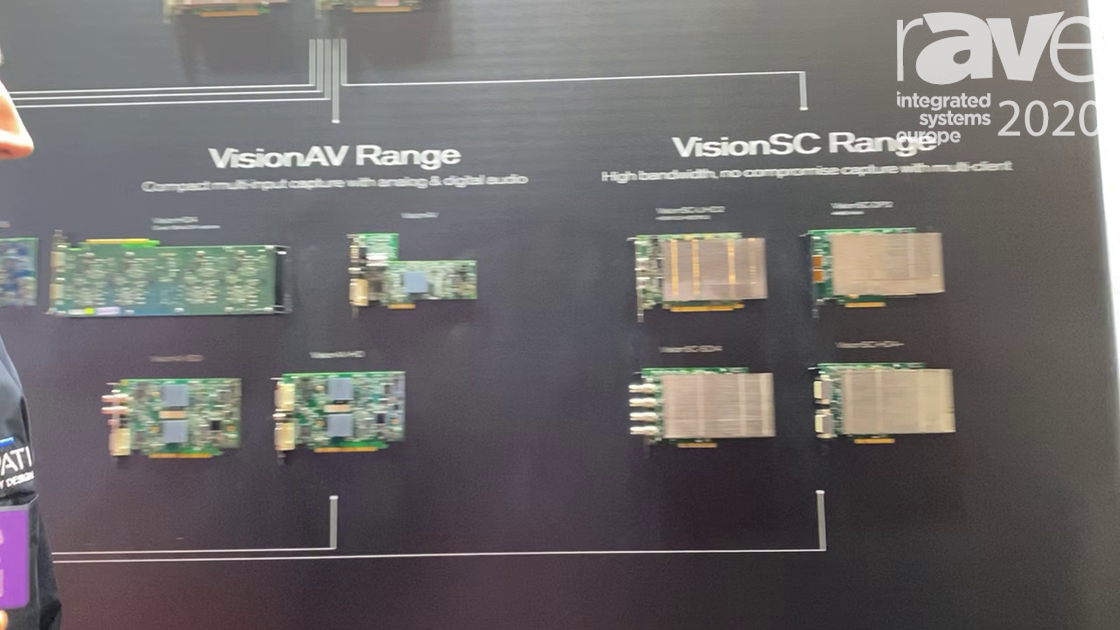 ISE 2020: DATAPATH Presents 4K VisionSC Range Input-and-Output Cards